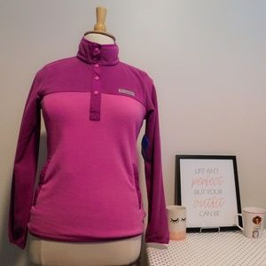 NWT Medium Columbia Foster Creek Pullover Fleece